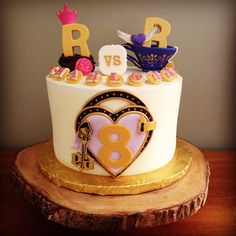 Ever After High cake - Royals vs Rebels. Kakes by Kristi.