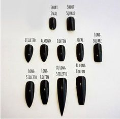 "If you're unfamiliar with nail trends and you hear the words ""coffin nails,"" what comes to mind? It's not nails with coffins drawn on them. Although, that would be a cute look for Halloween. It's long nails with a square tip, and the look has. Matte Nails, Blue Nails, Stiletto Nails, My Nails, Coffin Nails, Maroon Nails, Shellac Nails, Nagellack Trends, Long Nails"