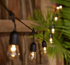 The CANVAS Edison Lights will keep your patio bright all summer long!