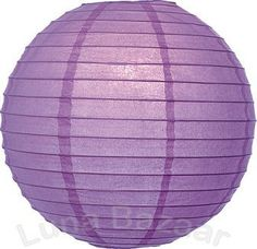 Lilac Purple 8 Inch Premium Small Paper Lantern by Luna Bazaar. $2.95. This small purple paper lantern is made with the finest quality rice paper and bamboo or wire parallel ribbing. As with all our premium paper lanterns, they can be used with most ceiling fixtures and with most light cords for hanging lanterns. They can also be used with our LED battery lights as convenient, cord-free lighting and decoration for parties, weddings, patios, gardens, and outdoor ...