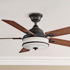 "52"" Fanimation Stafford Dark Bronze Ceiling Fan"