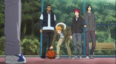 Kuroko no Basket | Rakuzan boys in causal clothes