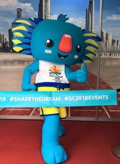 Borobi the 2018 Gold Coast Queensland Australia. Commonwealth Games mascot.