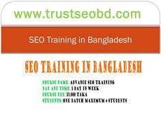 SEO training center in Dhaka Bangladesh | Best SEO course Dhaka