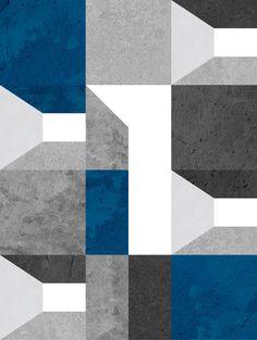 MODULAR SHED BLUE » Geométricos
