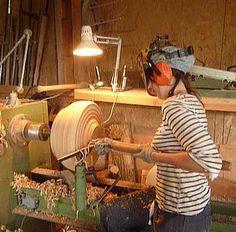 stage d'initiation au tournage sur bois