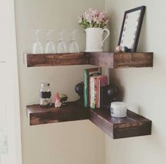 Here are the shelves I want