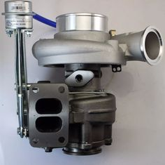 New Turbo for Cummins. Some also use this on Cummins. Supports up to 1 Year warranty. Wastegate set at 7 Blade Compressor 10 Blade Turbine 1st Gen Cummins, Cummins Turbo, Dodge Cummins, Dodge Trucks, Dodge Diesel, Diesel Trucks, Small Diesel Generator, Ram Accessories, Motors