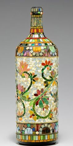 decoracion de botellas de vidrio de cerveza - Buscar con Google