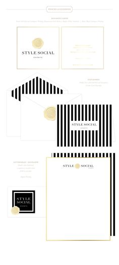 STYLE SOCIAL EVENTS Brand Design by Emily McCarthy