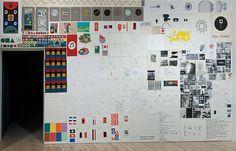 7 1/2 Bulletin Boards, by Matt Mullican, 2013