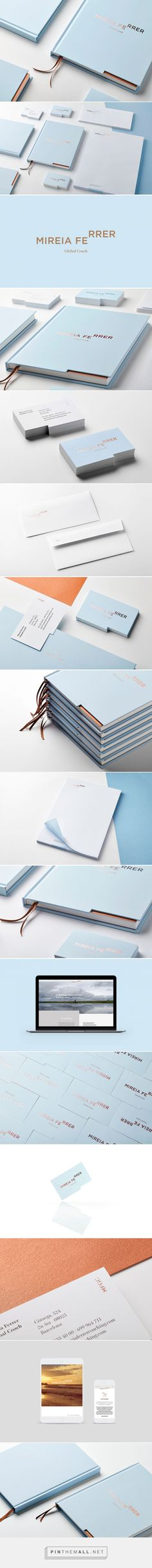 Mireia Ferrer on Behance. - a grouped images picture - Pin Them All (Fitness Logo Branding) Brand Identity Design, Graphic Design Branding, Corporate Design, Brochure Design, Packaging Design, Logo Design, Stationary Branding, Stationary Design, Logo Branding