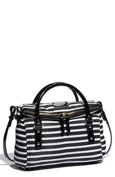 7eb822c3548 kate spade new york  small leslie  nylon satchel available at  Nordstrom  Striped Bags