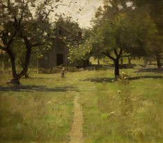 William L. Lathrop (1859-1938), Untitled, n.d., oil on canvas, H. 22 x W. 25 inches. Collection of Renny Reynolds and Jack Staub.