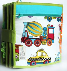 "Handmade by mom: Developmental book for a boy ""Bear-traveler"" ...))) 2 of 2"