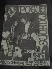 The Pogues UK Punk Flyers - Punk Memorabilia - Punk Posters - The Clash - Buzzcocks Punk Poster, Poster On, Posters Diy, Music Posters, Dead Kennedys, The Pogues, The Clash, Mixtape, Zine