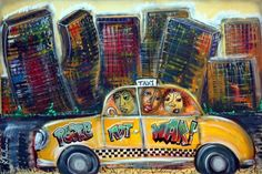 Taxi by Laura Barbosa - PEACE NOT WAR!