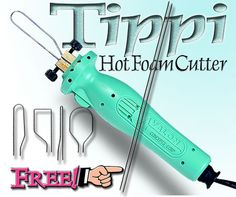 TIPPI®  HOT WIRE FOAM CUTTER Foam Cutter, Landscaping Supplies, Arts And Crafts, Diy Crafts, Good To Know, Wire, Texture, Tools, Hot