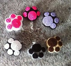 Ravelry: Kawaii Paw Cat pattern by Daniela Orlandi More and like OMG! get some yourself some pawtastic adorable cat shirts, cat socks, and other cat apparel by tapping the pin! Crochet Amigurumi, Amigurumi Patterns, Crochet Toys, Knitting Patterns, Crochet Patterns, Crochet Cat Pattern, Loom Patterns, Kawaii Crochet, Cute Crochet