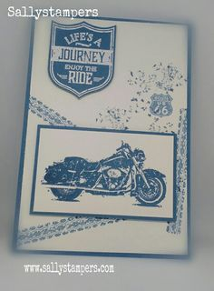 One Wild Ride in Denim, Dapper Denim. Independent Stampin' Up!® Demonstrator UK.