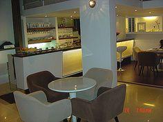 #玻璃纖維桌與沙發餐椅-FORTY CAFE咖啡廳