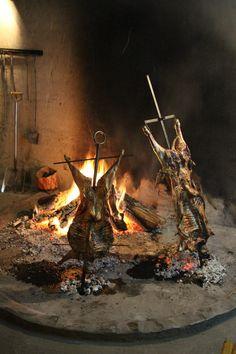 BBQ idea - Asado gaucho en Patagonia www.ruta40.com.ar