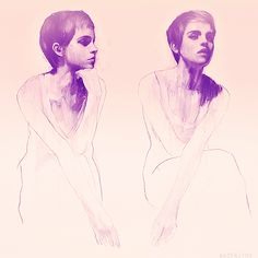 Portraits of Emma Watson by Mark Demsteader