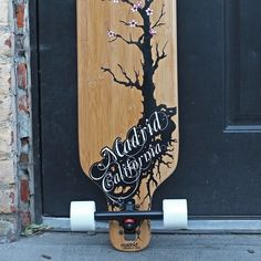 "Madrid 39"" Cherry Bamboo Longboard"