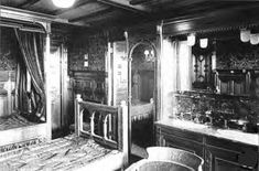 A Class Double Bedroom Suite aboard the Titanic Rms Titanic, Titanic Photos, Titanic History, Titanic Wreck, Titanic Ship, Belfast, Original Titanic, Liverpool, Modern History