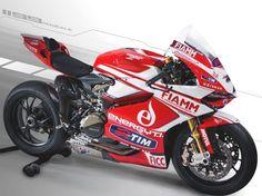 Team Ducati Alstare svela i colori 2013 della 1199 Panigale! Ci siamo anche noi!   FICC Energy Drink!
