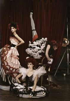 costume obsessed. I want to dress like I'm in a French Circus every day.