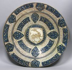 Plate Date: 1420–1430 Geography: Made in probably Manises, Valencia, Spain Culture: Spanish Medium: Tin-glazed earthenware