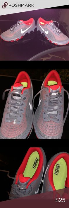 Nike tennis shoes Grey mesh Men s Nike Air New- W O Box Nike Shoes Sneakers e501ea012cd