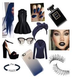 """""""Everybody tells me....."""" by cam3yn on Polyvore featuring Boohoo, Christian Dior, Beauxoxo, Casetify, Oxford Ivy, Trish McEvoy and Chanel"""