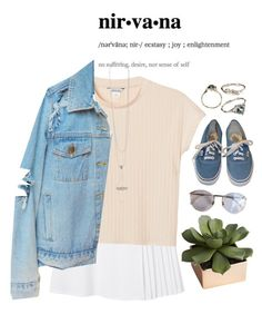 """""""Nirvana"""" by elisalagop ❤ liked on Polyvore featuring Monki, Lagos, CB2, Vans, women's clothing, women, female, woman, misses and juniors"""
