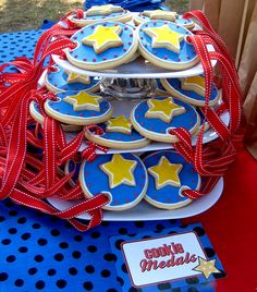 Kami Buchanan Custom Designs: Obstacle Course Party