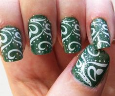 Bad Ass Nails! Esp. St Patty's Day!