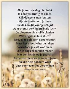 Als je soms je dag niet hebt ... Motivational Posts, Inspirational Quotes, Wisdom Quotes, Life Quotes, Dutch Quotes, Magic Words, Wishes For You, Love Me Quotes, Thoughts And Feelings