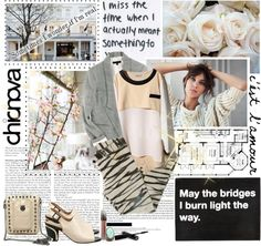 """Sometimes I wonder if I´m real"" by mimrella ❤ liked on Polyvore"