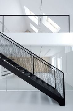 Cable Industrial Staircase Railing, Rs 1200 /feet, M/S Thakur Engg. Stair Handrail, Staircase Railings, Stairways, Metal Railings, Spiral Staircases, Loft Railing, Steel Balustrade, Banisters, Railing Design