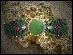 Dream Stone bracelet by NagKanya on Etsy Stone Bracelet, Bracelets, Etsy, Bracelet, Bangles, Bangle, Arm Bracelets, Super Duo