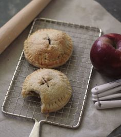 Carmel apple hand pies! The;re like little packages of fall! wenderly.com