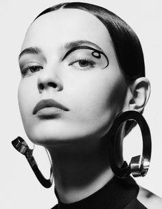 Mina Cvetkovic by Giampaolo Sgura for Vogue Germany February 2016