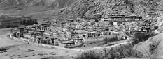 A beautiful picture of Sera Monastery in Lhasa, Tibet, taken before 1959.