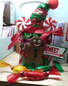 Candy Boxes, Elf, Christmas Ornaments, Holiday Decor, Home Decor, Decoration Home, Room Decor, Christmas Jewelry, Elves