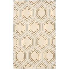Safavieh Modern Art Area Rug - Ivory/Multi