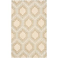 Safavieh Modern Art Area Rug - Ivory/Multi