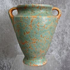 "Burley Winter Pottery 8"" Vase #45, Circa 1930"