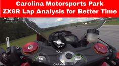Carolina Motorsports Park Lap Analysis Kawasaki Zx6r, Oil Filter, Spark Plug, Engineering, Technology