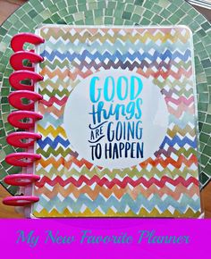 The Happy Planner is My New Favorite Planner! Are you looking for a fun creative and colorful planner? Perfect Planner, Life Organization, Organizing Life, Online Friends, Inspirational Books, Last Minute Gifts, Diy Craft Projects, Happy Planner, Cute Stickers